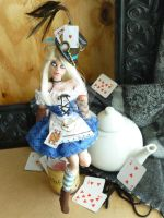 Alice out of Wonderland (wide shot) by MysticReflections
