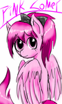 Pink Comet (FlutterSquee6's ponysona) by WhiteNoiseGhost