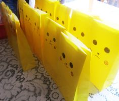 Army Of Pikachu Bags 2 by WolfDagger369