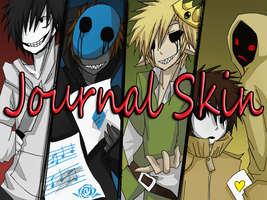 CreepyPasta Journal Skin by Toxic-Talon