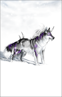 AT .:Snowflakes:. by WhiteSpiritWolf