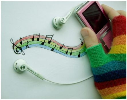 Musical Rainbow by Red--Roses