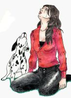 Ouat - Ruby and Pongo mourn Archie by Celwen85