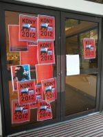Kony 2012 Posters - The Cafeteria Doors by lu40953