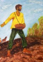 the sower by Ludmiva