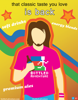Beverage Poster by WolfTron