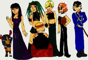 Seven Deadly Pirates by Rochelle-the-Echidna