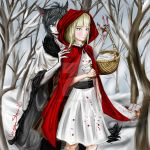 Red Riding Hood and the Wolf by DragonStorm16