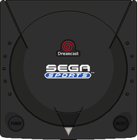 Sega Dreamcast [Sega Sports Edition] by BLUEamnesiac
