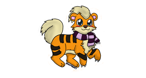 Growlithe for deidarasgirl1 by BrannaPants