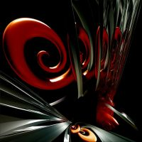 swirls abstraction by bluartdesign2012