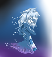 YGO:BAKURA Deep Blue by animepop7