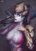 Widowmaker Overwatch - NSFW optional by Eriyal