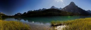 Jasper National Park Pano #2 by KRHPhotography