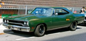 Plymouth Roadrunner 1970 green by cmdpirxII