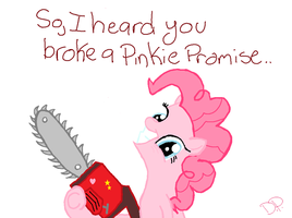 Who broke a Pinkie Promise..? by Gr8AndPowerfulAroura