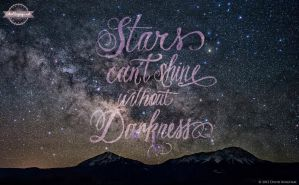 Stars Can't Shine Without Darkness (social share) by ShirtSayings