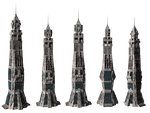 Sci-Fi Towers png by mysticmorning