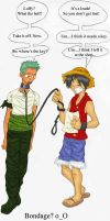 Bondage? Zoro X Luffy by Dreamwish
