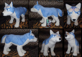 Big Gin-plushie SOLD by IsisMasshiro