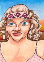 Carnivale - Rita Sue ACEO by burning-thirteen