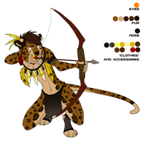 Anthro Leopard by Demicus-Maximus