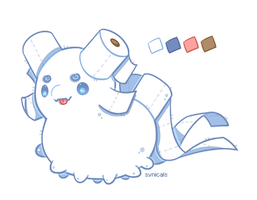 My Toilet Paper Paca by synicals