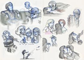 SP Sketches Book 5 by Expression
