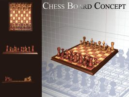 Chess Board Concept by stxd3