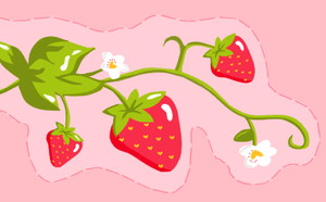 Strawberries by ribcages