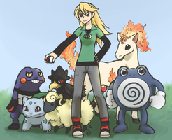 TRAINER LIME wants to battle by FastPuck
