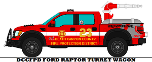 Dccfpd Ford Raptor Turret Wagon by mcspyder1