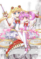 Steam Punk Sailor Moon contest entry by vixiebee
