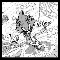 Sonic CD by pumpkinsareholy