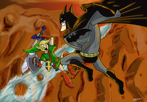 Holy Hyrule, Batman by JobbytheHong
