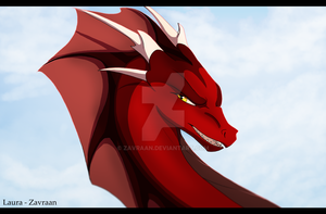 Bloodlust - Dragon by zavraan