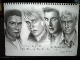 Westlife by JAF-Artwork