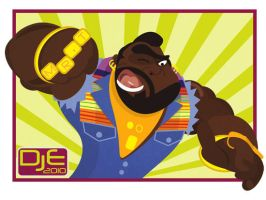 Mr T says I pity the fool by johnnymartini