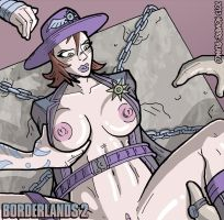Borderlands 2 - Sheriff of Lynchwood by hombre-blanco