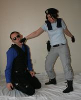 Jill and Wesker 14 by MajesticStock