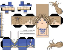 belldandy ohmy goddess by animepapertoys