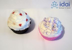 Soap cupcakes by Candy27