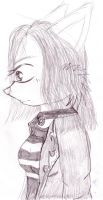 Sketched Girl by tails-sama