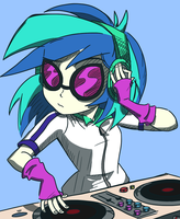 Play That Funky Music Vinyl by varemiaArt