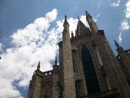 Church and Sky by darkraziel01