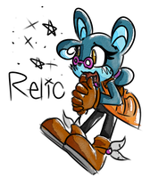 Relic the Pika by Brownie-Bytes