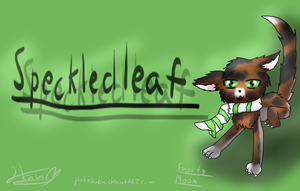 Request Speckledleaf by pokebulba