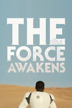 STAR WARS: THE FORCE AWAKENS - FINN // POSTER by MrSteiners