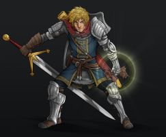 Paladin Todd White of Astora by AIBryce