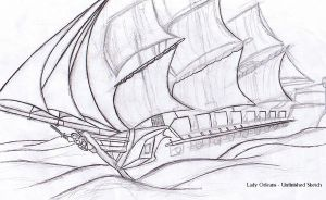 Privateer Sketch... by Aliies